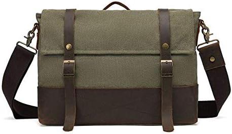 DQMSB Multi-Function Storage Bag for Ipad Mini Mens and Womens Computer Bag Messenger Bag Color : Black