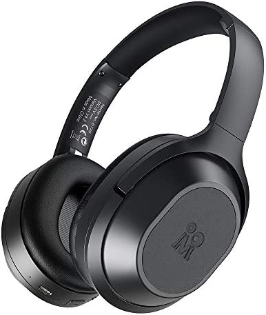 Active Noise Cancelling Headphones Bluetooth Headphones Wireless Headphones Over Ear with Mic, Stereo ANC Headphones, 35 Hrs Playtime for TV, PC, Phone, Laptop.