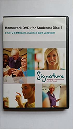 signature bsl level 1 homework