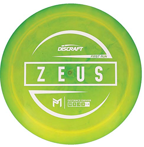 Discraft Limited Edition Paul McBeth Signature First Run Elite Z Zeus Distance Driver Golf Disc [Colors May Vary] - 170-172g