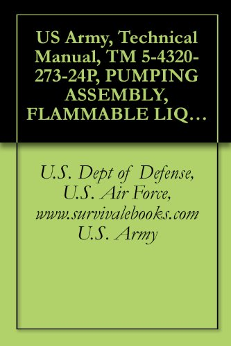 US Army, Technical Manual, TM 5-4320-273-24P, PUMPING ASSEMBLY, FLAMMABLE LIQUID, BULK TRANSFER, GED, 350 GPM CAPACITY, 275 TOTAL HEAD, WHEEL MTD, (NSN ... military manauals, special forces