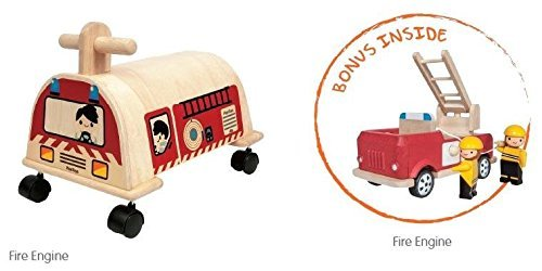 Plan Ride On Fire Engine by PlanToys