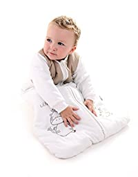 Slumbersafe Winter Sleeping Bag Long Sleeves 2.5 Tog - Cartoon Animal - 6-18 months/35inch