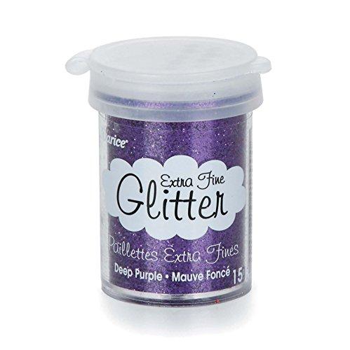 Darice Extra Fine Glitter Purple