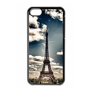 Eiffel Tower DIY Case for Iphone 5C, Custom Eiffel Tower Case