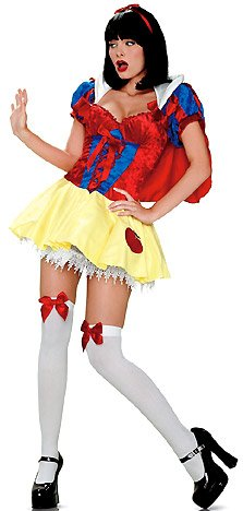 Princess Snow Costume - Medium/Large - Dress Size 8-12