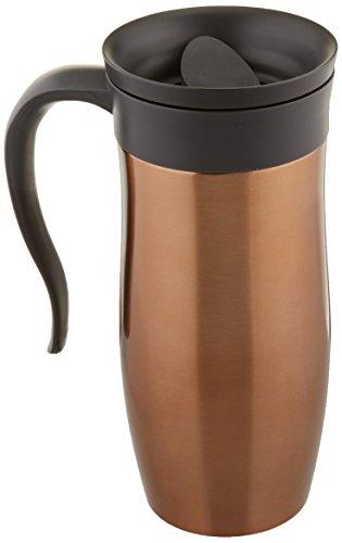 Trudeau Travel Mug (Trudeau Maison Endure Travel Mug, 16 oz, Copper)