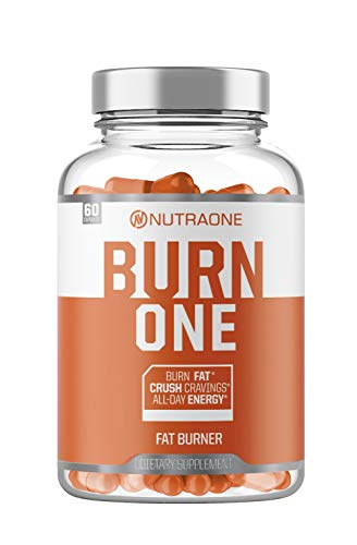 BurnOne Energy and Metabolism Booster by NutraOne - Burn Supplement to Aid Natural Weight Loss (60 Capsules) (Burn Dietary Supplement)