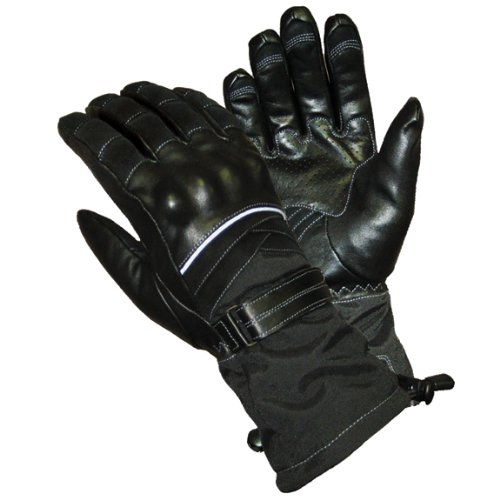 Cold Throttle - Olympia 437513 Ladies Cold Throttle Gloves (Black, Small)