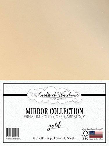 MIRROR GOLD Mirricard Premium Cardstock 8.5