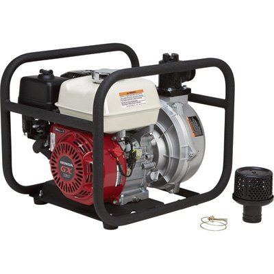 NorthStar High-Pressure Water Pump - 8,120 GPH, 94 PSI, 2in  Ports, 160cc  Honda GX160 Engine