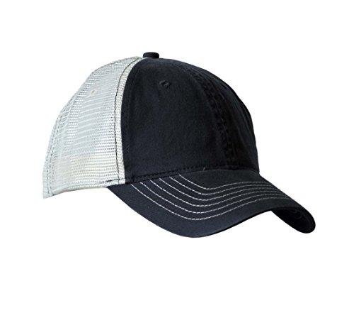 KC Caps Unisex Two Tone Baseball Cap Classic Low Profile Hat Basic Style Mesh Retro Cap