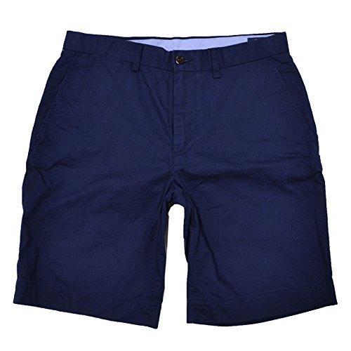 Chino Shorts Polo (Polo Ralph Lauren Mens Flat Front Preston Chino Shorts (42, Newport Navy))