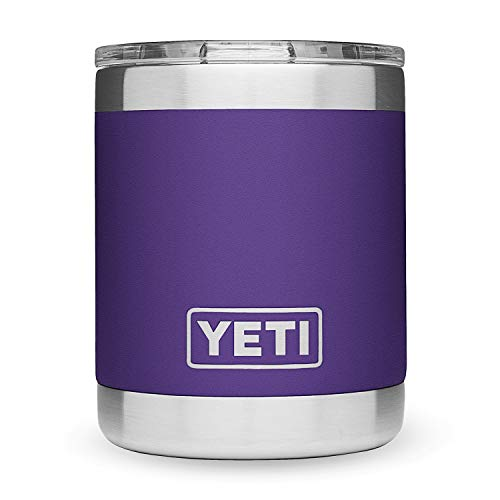 YETI Peak Purple Rambler Low Ball 10 Ounce, 1 EA