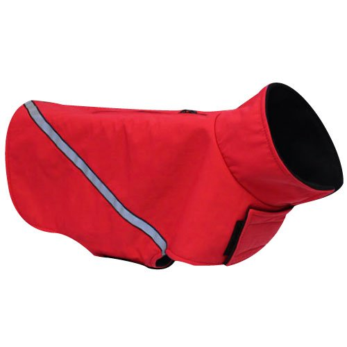 RC Pet Products Whistler Zip Line Version 2.0 Dog Coat, Size 20, Red, My Pet Supplies
