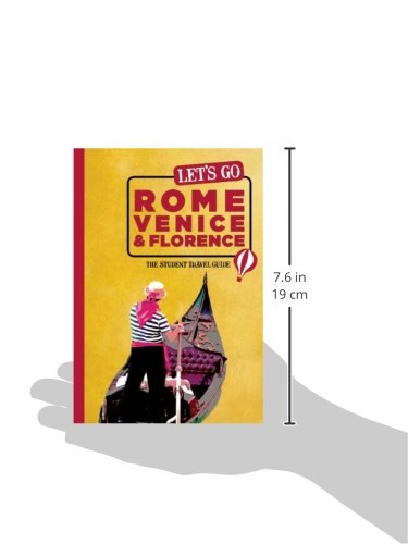 let s go rome venice florence the student travel guide inc