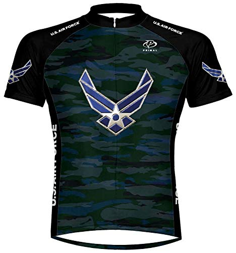 Primal Wear U.S. Air Force Engage USAF Cycling Jersey Men's 5XL Short Sleeve