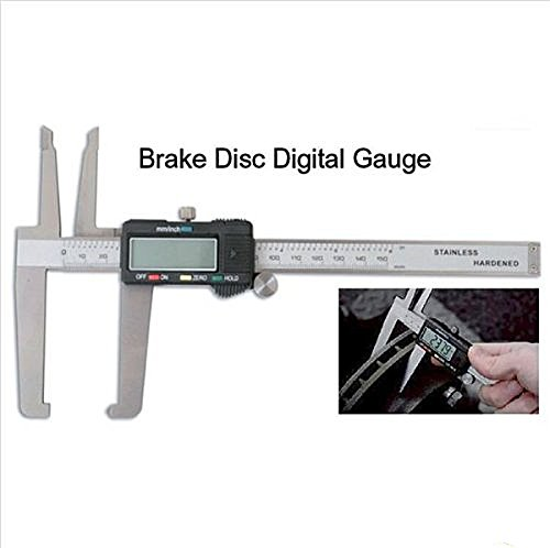 PMD Products Digital Micrometer Disc Brake Gauge Rotor Drum SAE Metric Hardened w/Case Spare Battery