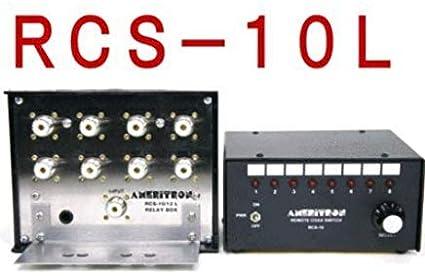 Amazon com: Ameritron RCS-10L Remote Coax Switch, 8 Position