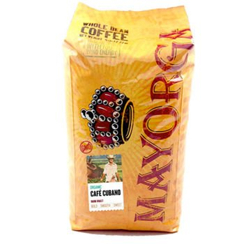 Mayorga Organic Café Cubano Whole Bean Coffee 5 lb. Bag