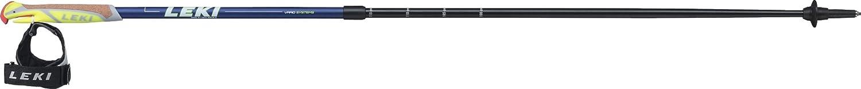 100-130 cm Leki Unisex Adult Supreme Shark Trekking Sticks-Black