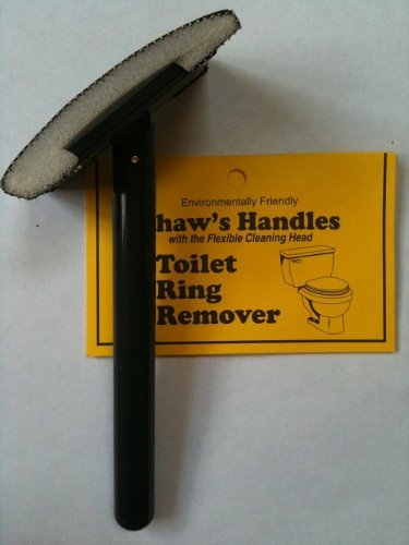 Algae Remover Cleaner Pad - Toilet Ring Remover - Shaw's Handle Flexible Cleaning Tool