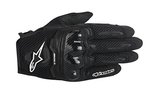 Alpinestars SMX-1 Air Men's Street Motorcycle Gloves - Black/Large -