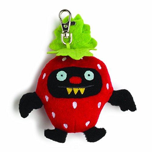 fruit ninja plush strawberry - 4