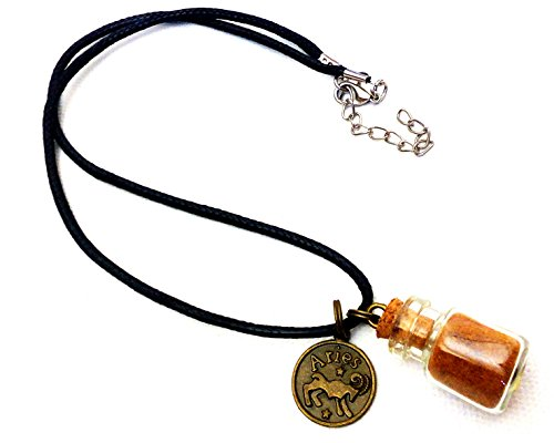 - laddies/girls horoscope necklace Aries with Spice