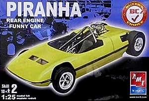Amazon.com: 1/25 Piranha Funny Car: Toys & Games