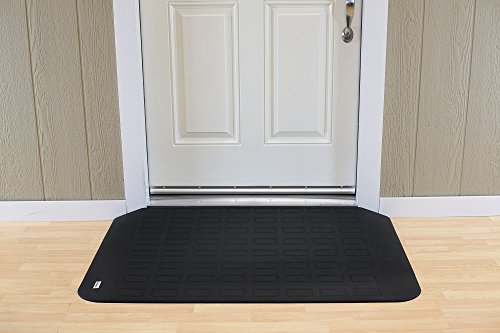 EZ Edge Transition Threshold Ramp - 2-1/4'' H x 29-1/4'' L x 46'' W by SafePath Products