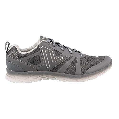 Vionic Women's, Miles Lace up Athletic Sneaker Gray 8 M