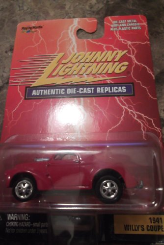 Johnny Lightning 1:64 1941 Willy's Coupe Authentic Die-cast Replicas