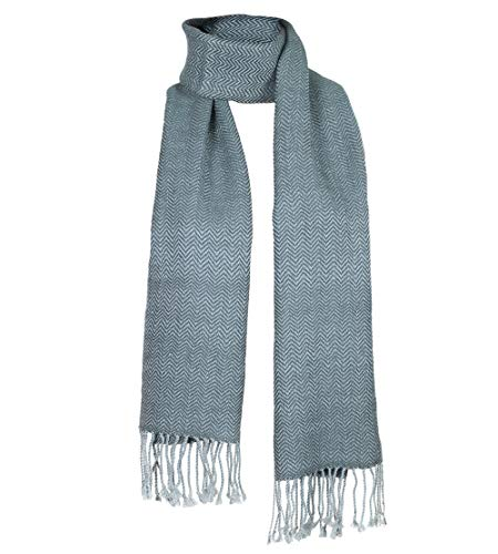 Hand Woven 100% Baby Alpaca Scarf - two colors ()