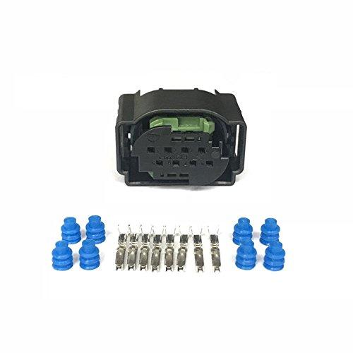2 Sets 8 Pin 4F0 972 708 1 1418552 1 1 1534229 1 8P Reverse Sensor Rada For Vw Audi Benz Bmw Car Connector Female Plug