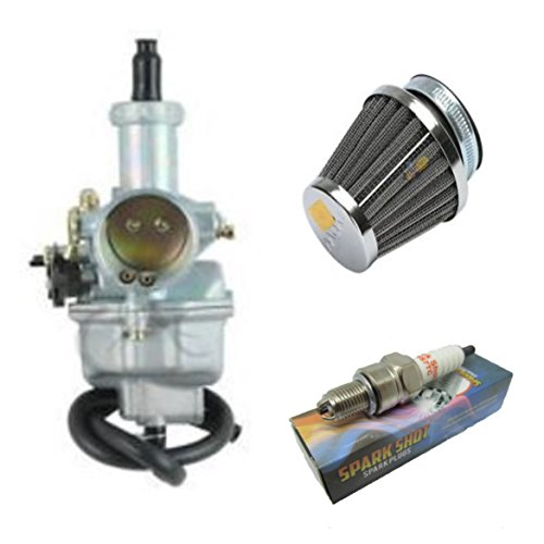 Carburetor & Air Filter Spark Plug Gas Filter Honda XR100 XR100R CRF100F Carb by Hot Street