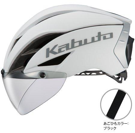OGK Kabuto(オージーケーカブト) AERO-R1 TR L/XLサイズ マットホワイト ヘルメット エアロR1TR   B07F7Y9Q5L