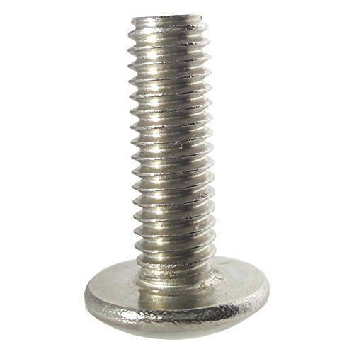 Thread Size #6-19 FastenerParts Thread-Forming Screw for Plastic 18-8 Stainless Steel