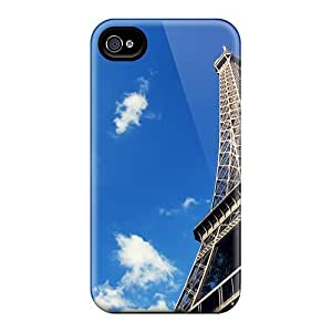 Flexible Tpu Back Case Cover For Iphone 5/5s - Eiffel Tower Paris