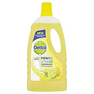 Dettol Floor Cleaner (1 L, Lemon)