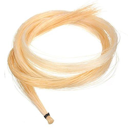 BangBang 1 Hank 32 Inch Mongolian Violin/Viola Bow Hair Horsehair White