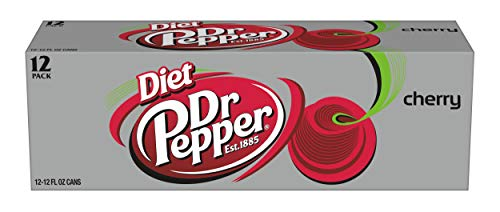 (Diet Dr Pepper Cherry, 12 fl oz cans, 12 count)