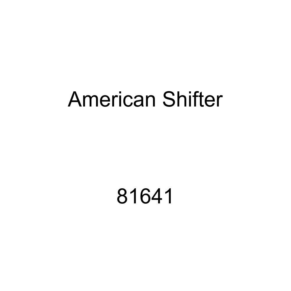 Black Shift Pattern 52n American Shifter 81641 Orange Metal Flake Shift Knob with M16 x 1.5 Insert