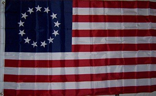 3Ftx5Ft Betsy Ross Revolutionary War U.S. Flag by 3Ftx5Ft Betsy Ross Revolutionary War U.S. Flag ...