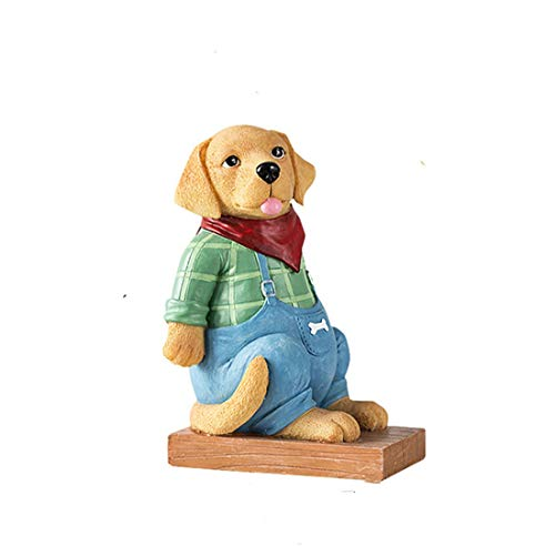 ZhihuaHd Red Scarf Puppy bookend Book by Book Stand Decoration Creative Home Decorations Modern Minimalist European Pastoral Jewelry Small furnishings Accessories Decorations ()