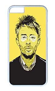 Apple Iphone 6 Case,WENJORS Awesome Thom Yorke Hard Case Protective Shell Cell Phone Cover For Apple Iphone 6 (4.7 Inch) - PC White