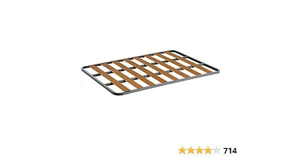 HOGAR24 Somier de Acero con láminas de chopo. Fabricación Nacional. 135x180cm-SIN Patas
