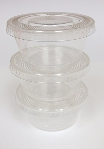 - OKSLO Cf736, pla portion cup lid (fits 2-4-ounce cup), 2000-piece case, astm, bpi, ced