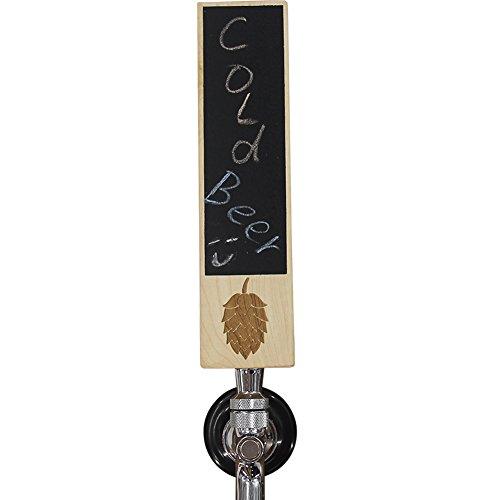 - Fanfoobi Chalkboard Beer Tap Handle For Draft Beer Lover's Kegerator or Bar, Hombrewer, 8
