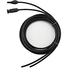 Sun YOBA 12 AWG Solar Panel Extension Cable Wire (10 ft.) with MC4 Connectors